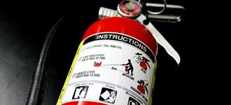 Fire Extinguisher Spotlight