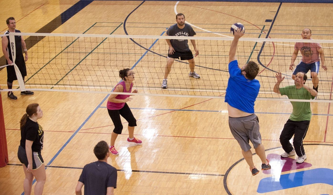 Adult-Volleyball