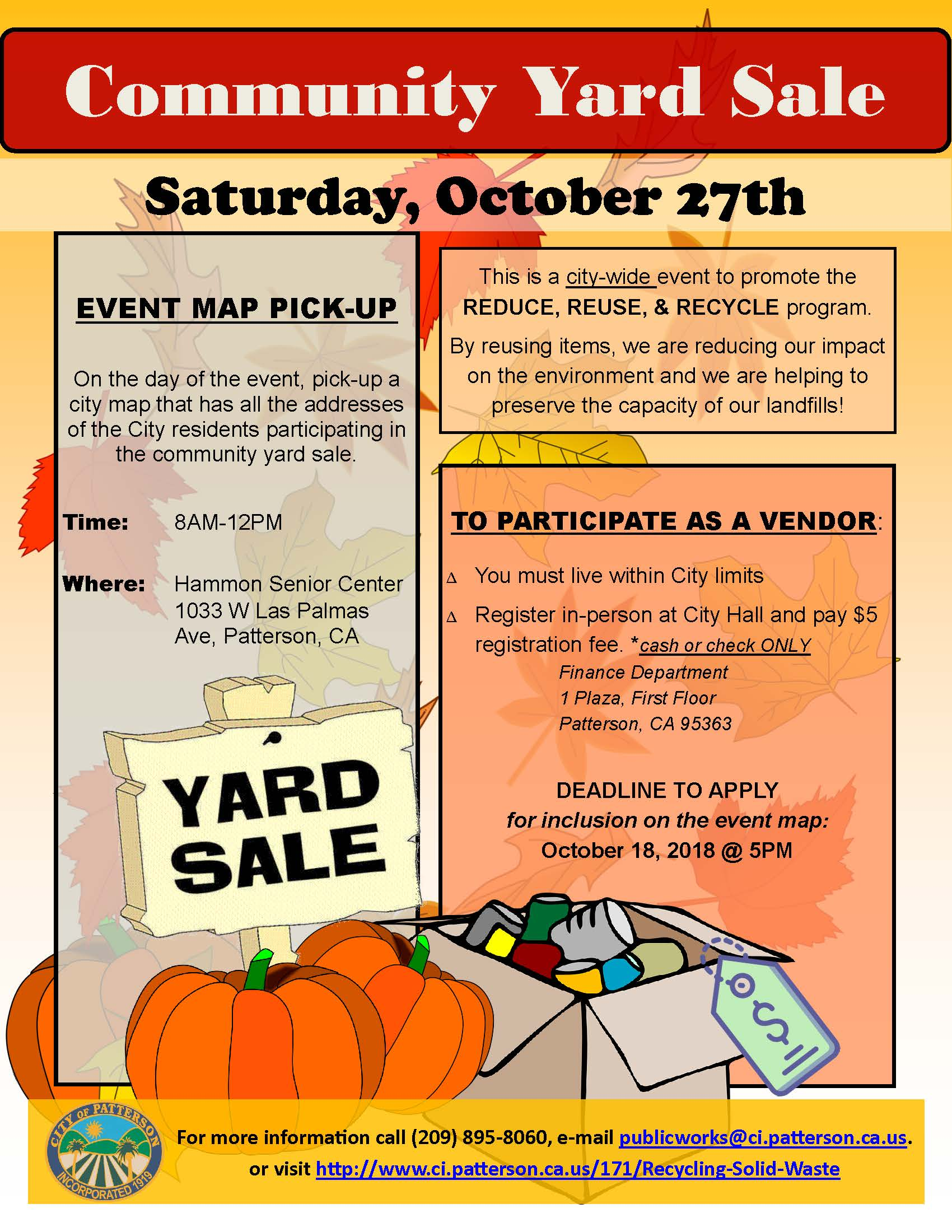 YardSale Flyer_Spanish