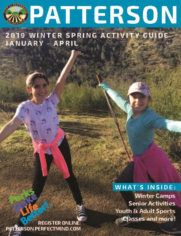 2019 Winter/Spring Activity Guide Cover