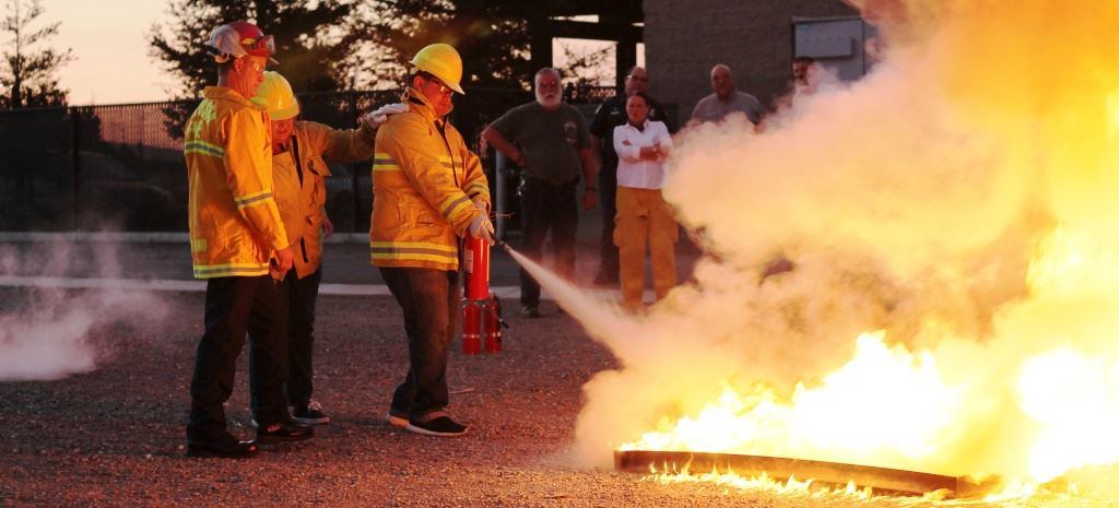 CERT Fire Extinguisher Training